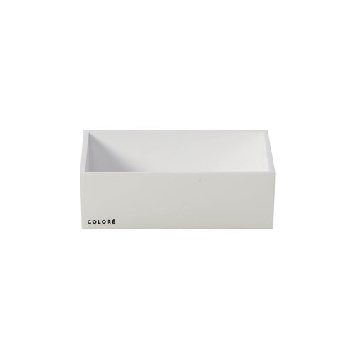 Coloré Small Tray - Opaque White