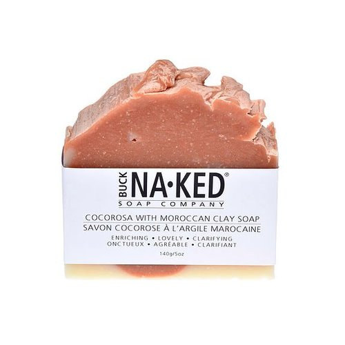 Buck Naked Soap Company CocoRosa & Moroccan Clay Soap