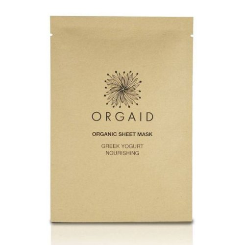Orgaid Orgaid Greek Yogurt & Nourishing Sheet Mask