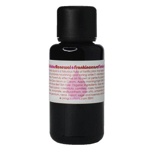 Living Libations Rose Cellular Renewal Frankincense Firming Fluid