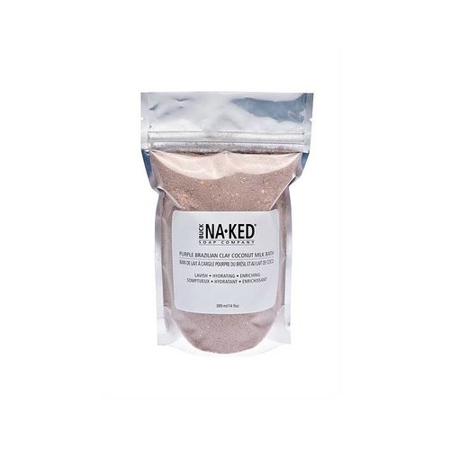 Buck Naked Soap Company Purple Brazilian Clay Coconut Milk Bath
