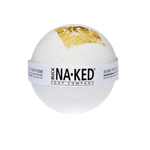 Buck Naked Soap Company Gold Rush Bath Bomb