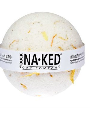 Buck Naked Soap Company Energizing Marigold Bath Bomb