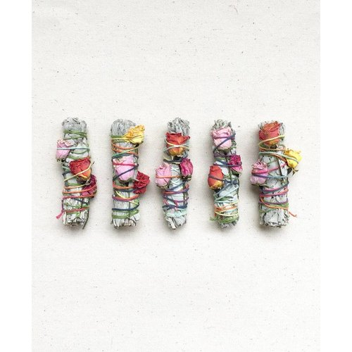 Catherine Rising Floral Smudge Sticks
