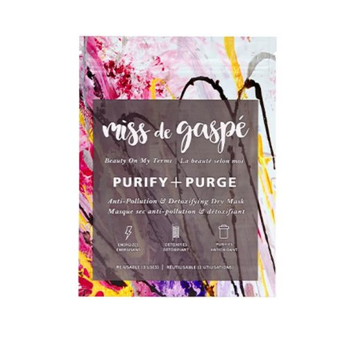 Miss De Gaspé Purify + Purge Mask