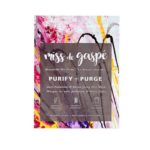 Miss De Gaspé Purify + Purge Mask