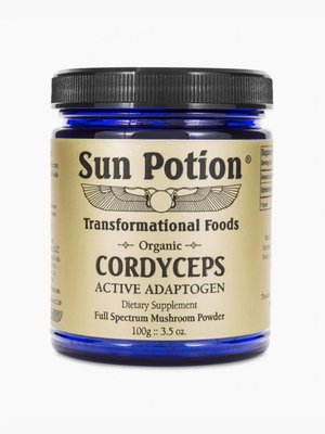 Sun Potion Cordyceps Raw Mushroom Powder
