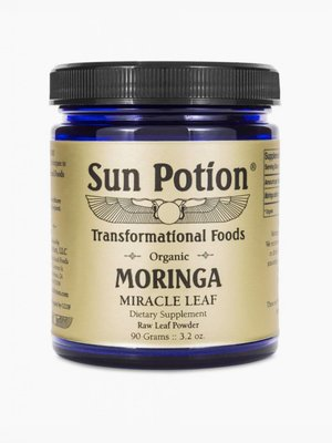 Sun Potion Moringa Leaf Powder