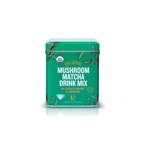 Four Sigmatic Mushroom Matcha With Lion's Mane Tin