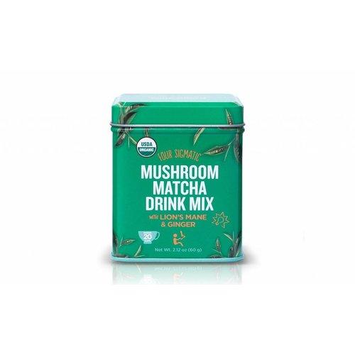 Four Sigmatic Mushroom Matcha With Lion's Mane Tin