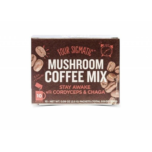 Four Sigmatic Mushroom Coffee Mix With Lion's Mane & Chaga