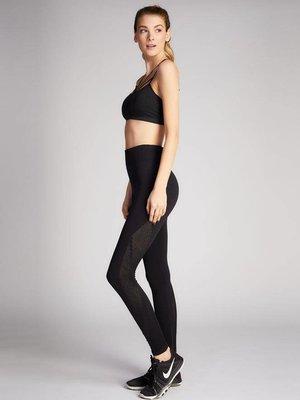 C'est Moi Nylon Compression Leggings