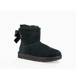 UGG UGG Womens Customizable Bailey Bow Mini Black