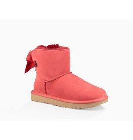 UGG UGG Womens Customizable Bailey Bow Mini Ribbon Red