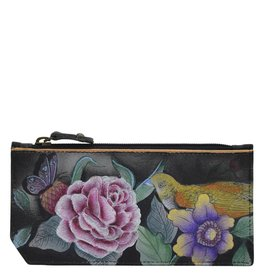 Anuschka Anuschka RFID Blocking Card Case With Coin Pouch Vintage Bouquet 1140-VBQ