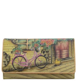 Anuschka Anuschka Accordion Flap Wallet Vintage Bike 1095-VTB