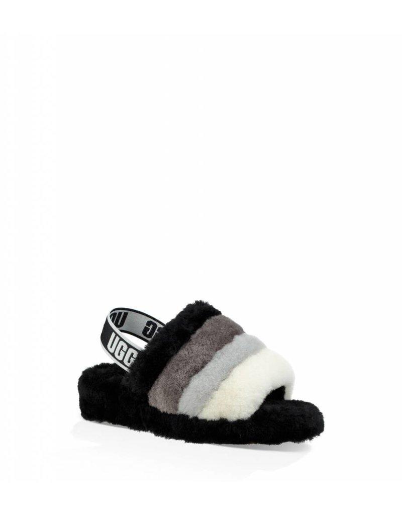 b1ee7689ce74c UGG Womens Fluff Yeah Slide Black Multi - Island Comfort Footwear