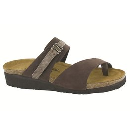Naot Naot Womens Jessica Coffee Bean Nubuck Brown Lizard