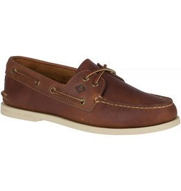 Sperry Sperry Mens A/O 2-Eye Pullup Tan Wide