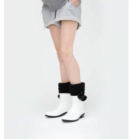 UGG UGG Pom Pom Short Rainboots Socks Black