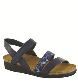 Naot Naot Womens Gwyneth Ink Leather Blue Combo