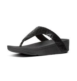 FitFlop FitFlop Womens Lottie Chevron Black