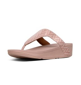 FitFlop FitFlop Womens Lottie Chevron Oyster Pink