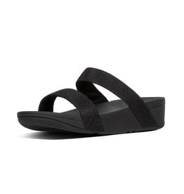 FitFlop FitFlop Womens Lottie Glitzy Slide Black