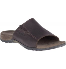 Merrell Merrell Mens Sandspur Slide Leather Brown