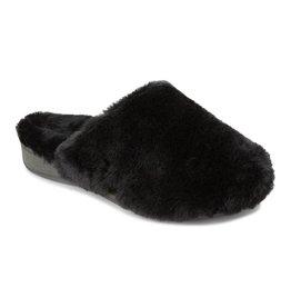 Vionic Vionic Womens Gemma Plush Slippers Black