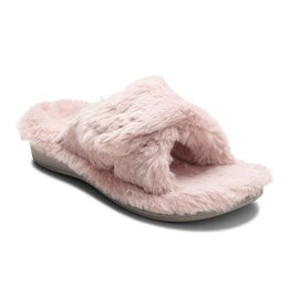 Vionic Vionic Womens Relax Plush Slippers Blush