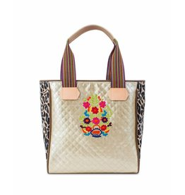 Consuela Consuela Classic Tote Playa Isabel Champagne