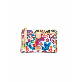 Consuela Consuela Slim Wallet White Swirly