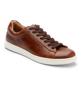 Vionic Vionic Mens Baldwin Lace up Sneaker Dark Brown