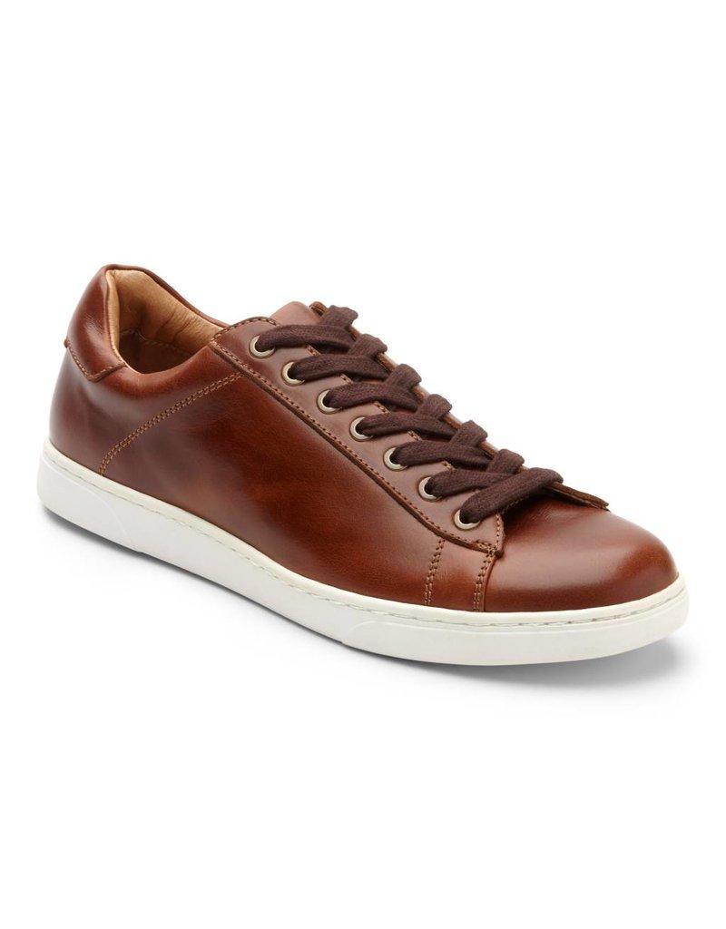 Vionic Vionic Mens Baldwin Lace up Sneaker Dark Brown