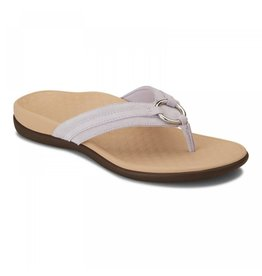 Vionic Vionic Womens Tide Aloe Toe Post Sandal Lavender