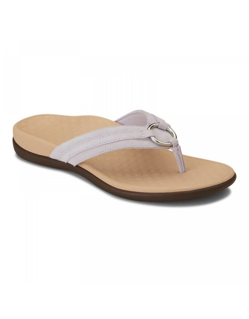 Vionic Vionic Womens Tide Aloe Toe Post Sandal Lavender