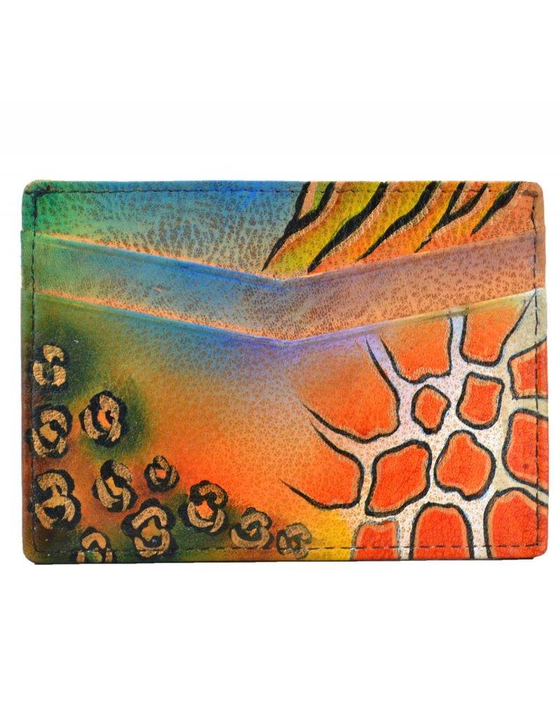 Anuschka Anuschka Credit Card Case Premium Safari 1032-PS