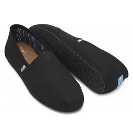 Toms Toms Mens Classic Canvas Black on Black