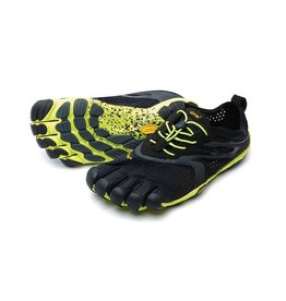 Vibram Five Fingers Vibram FiveFingers Mens V-Run Black Yellow