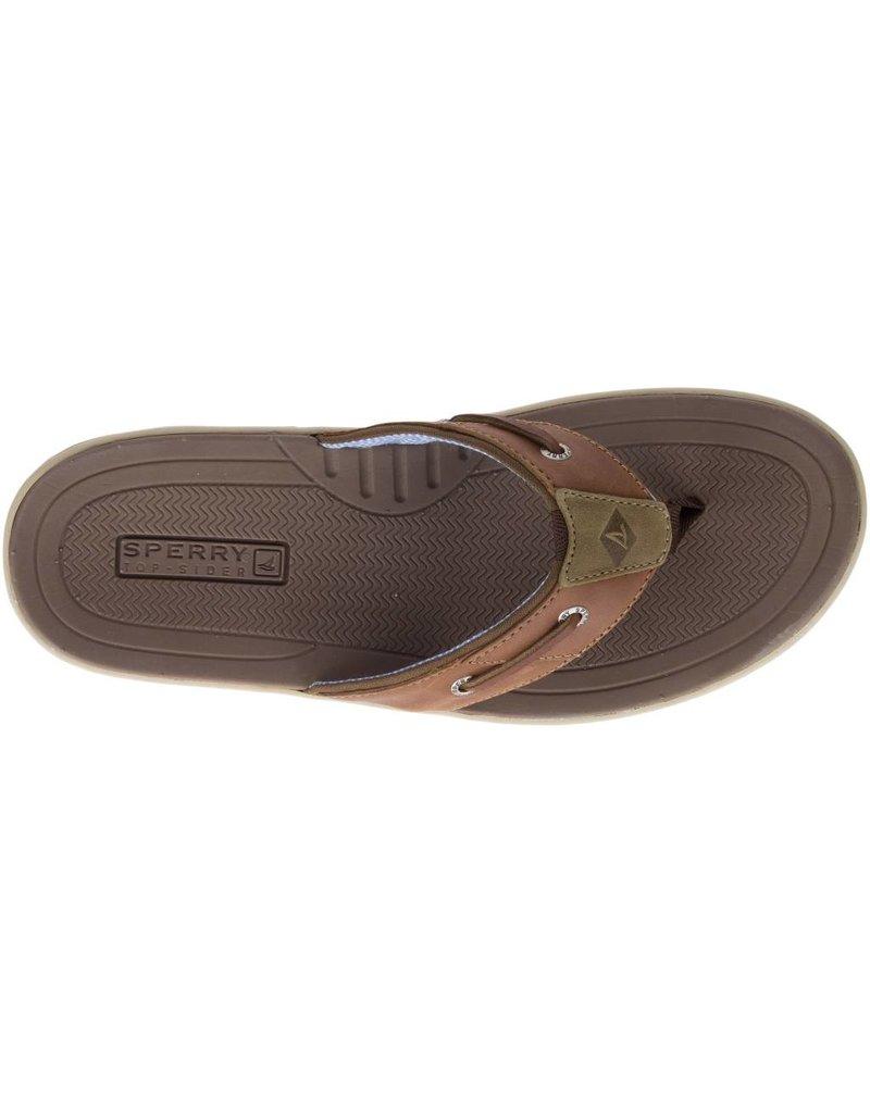 a33435d711d Sperry Mens Baitfish Thong Sonora Tan - Island Comfort Footwear