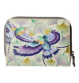 Anuschka Anuschka Zip Around Credit Card Case Wings Of Hope 1124-WHP