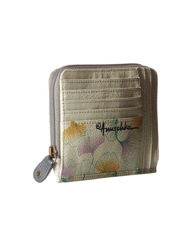 Anuschka Anuschka Zip Around Credit Card Case Wings Of Hope 1124-WHP