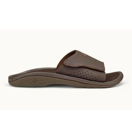 Olukai Olukai Mens Nalu Slide Dark Java