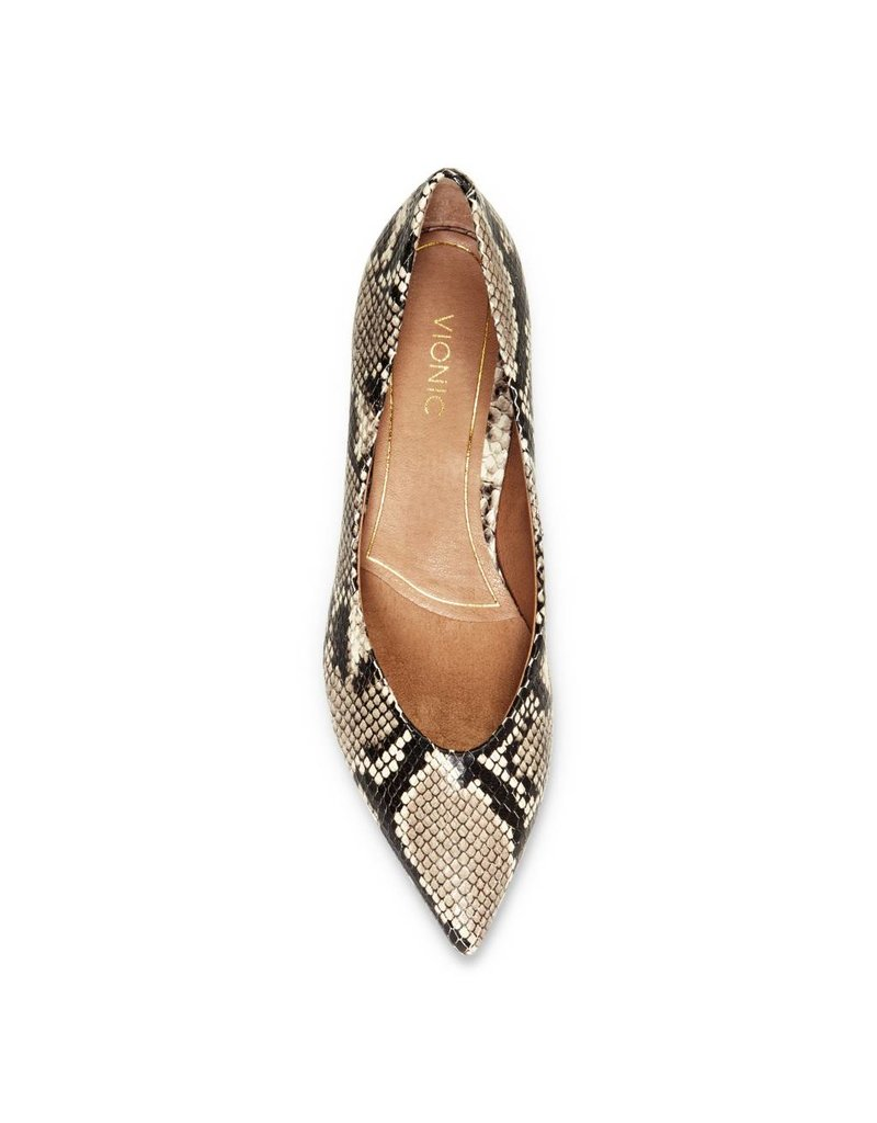 6e168ddf65 Vionic Womens Josie Natural Snake - Island Comfort Footwear