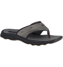 Sperry Sperry Mens Outer Banks Thong Grey Black