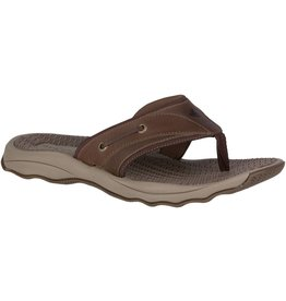 Sperry Sperry Mens Outer Banks Thong Brown