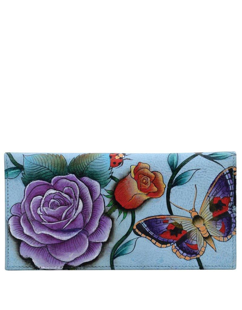Anuschka Anuschka Checkbook Cover Roses D Amour 1056-RDM