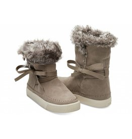 Toms Toms Womens Vista Boots Desert Taupe Suede
