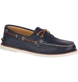 Sperry Sperry Mens Gold A/O 2-Eye Navy Wide